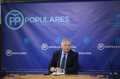 Cañizares lamenta que Page y Podemos sitúen a Castilla-La Mancha a la cola del crecimiento, el empleo y la prestación de servicios