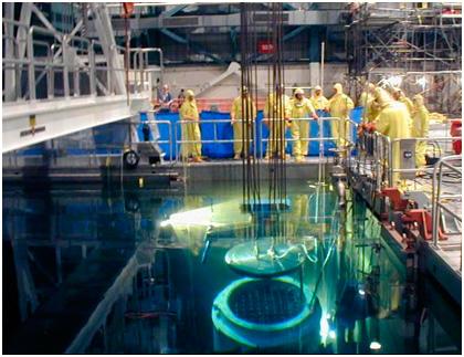 Las nucleares buscan en sus almacenes propios una salida tras el parón del ATC de Villar Cañas