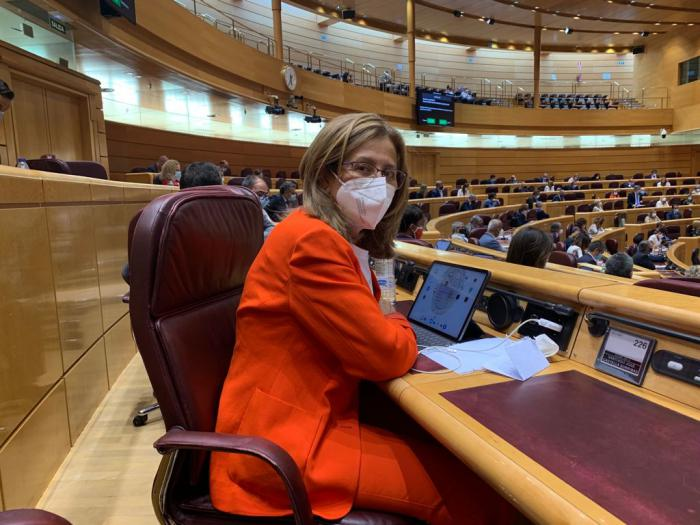 Carmen Torralba, senadora socialista por la provincia de Cuenca