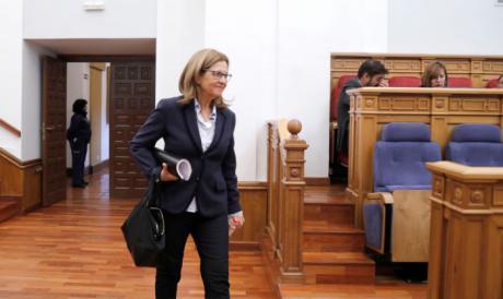 Torralba recrimina a la diputada regional del PP y alcaldesa de Horcajo de Santiago, María Roldán, que haga