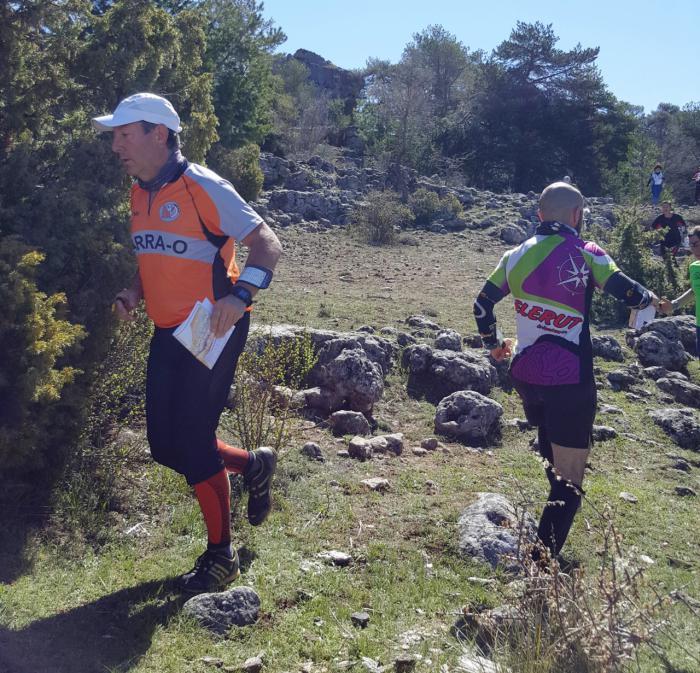 Álvaro Casado y Ana Isabel Toledo ganan en Las Majadas la cuarta prueba del XII Circuito de Orientación Diputación de Cuenca
