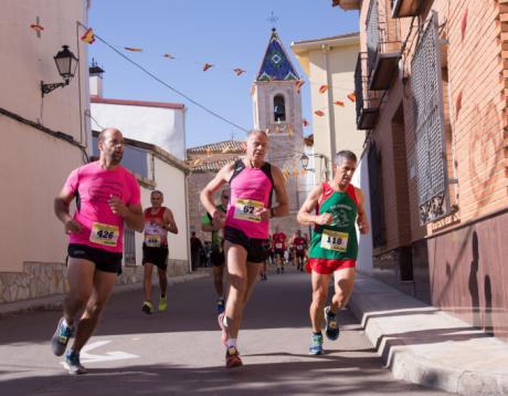 Miguel Sanabria y María Jesús Algarra se llevan el triunfo en la XIV Carrera Popular Santa Eulalia de Villares del Saz