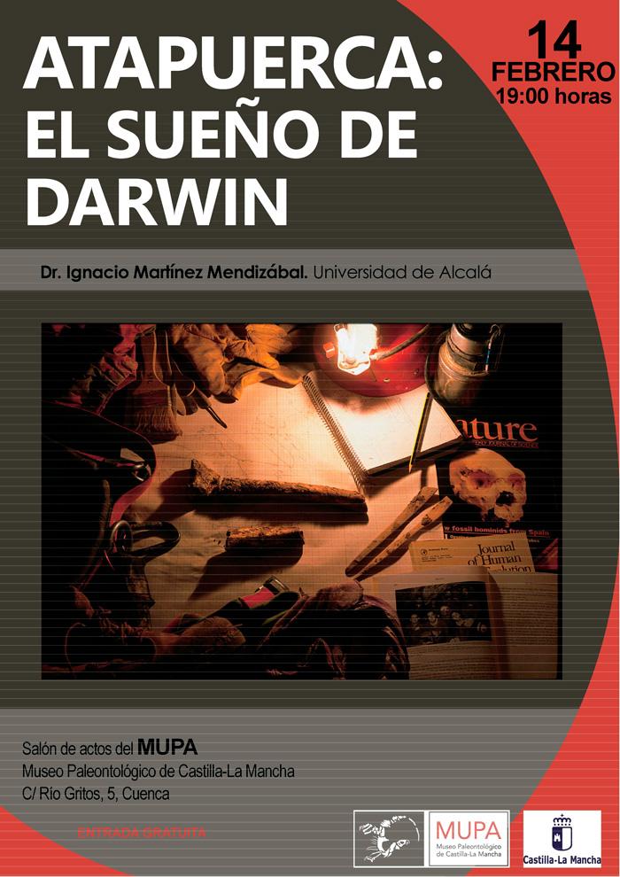 """El MUPA acoge la conferencia """"Atapuerca: El sueño de Darwin"""" sobre la evolución humana"""