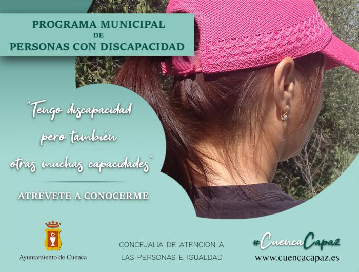 Se pone en marcha #CuencaCapaz, una iniciativa que visibiliza a las personas con discapacidad