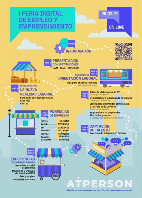 La empresa conquense ATPERSON impulsa la primera Feria de Empleo digital en Castilla-La Mancha