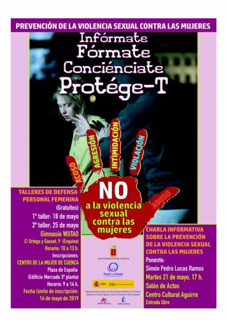 El Ayuntamiento programa varias actividades para sensibilizar y prevenir la violencia sexual hacia las mujeres