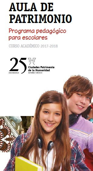 El Grupo de Ciudades Patrimonio de la Humanidad convoca una edición especial de su programa 'Aula de Patrimonio'