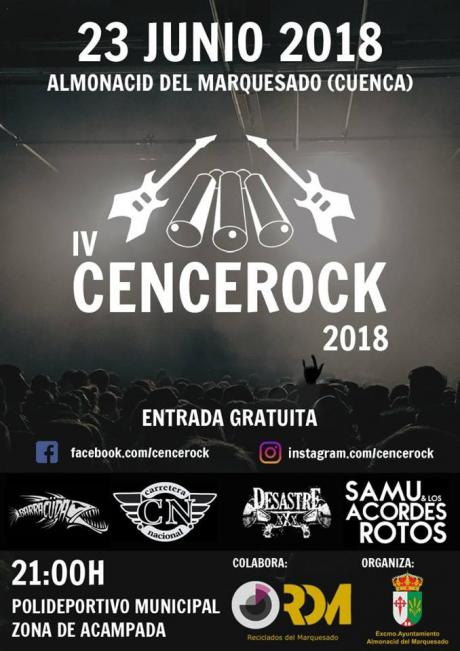 """Almonacid del Marquesado acogerá una nueva edición del festival """"Cencerock"""""""