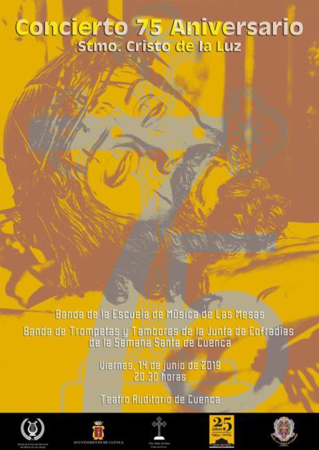 La V. H. del Santísimo Cristo de la Luz presenta este jueves el Concierto con el que cierra el 75º Aniversario de su Titular