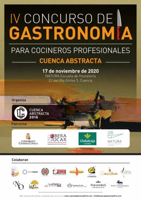 """Ya está en marcha el IV Concurso de Gastronomía """"Cuenca Abstracta"""" para cocineros profesionales."""