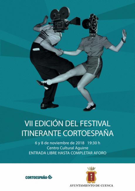 El Centro Cultural Aguirre acoge las proyecciones de la VII edición del Festival Itinerante 'CortoEspaña'