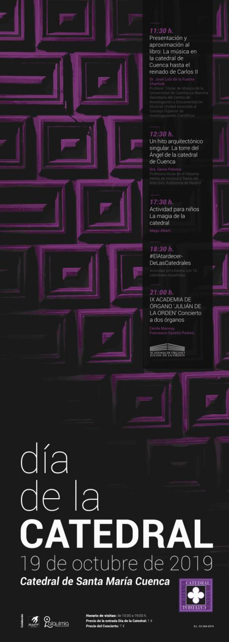 La Catedral de Cuenca celebrará su día el próximo sábado