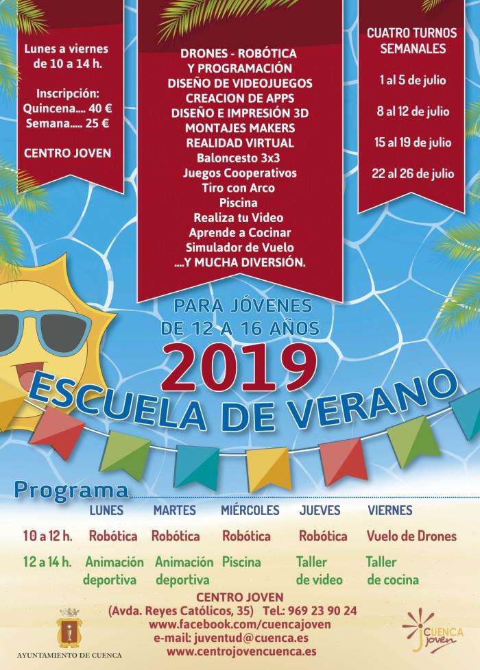 La Escuela de Verano Junior ofrece numerosas actividades para disfrutar las vacaciones de manera divertida