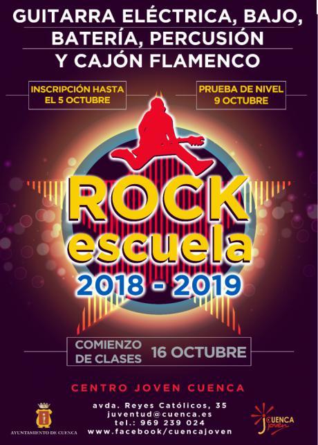 La Escuela de Rock del Centro Joven abre el plazo de inscripción para el nuevo curso
