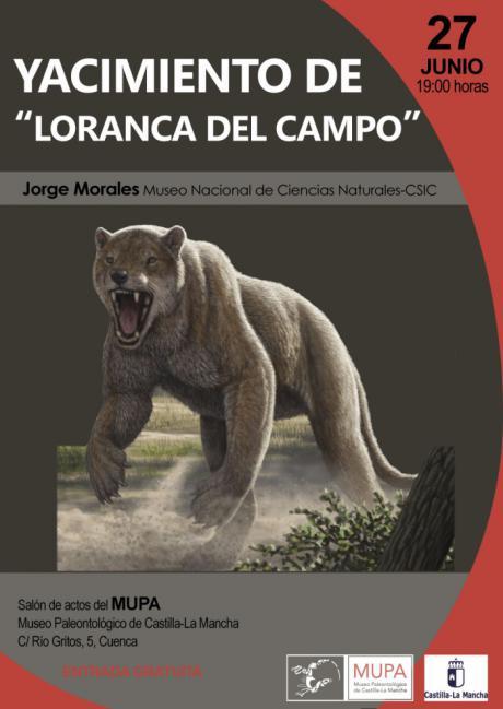 El Museo de Paleontología finaliza su ciclo de conferencias sobre Paleontología con el yacimiento de Loranca del Campo.