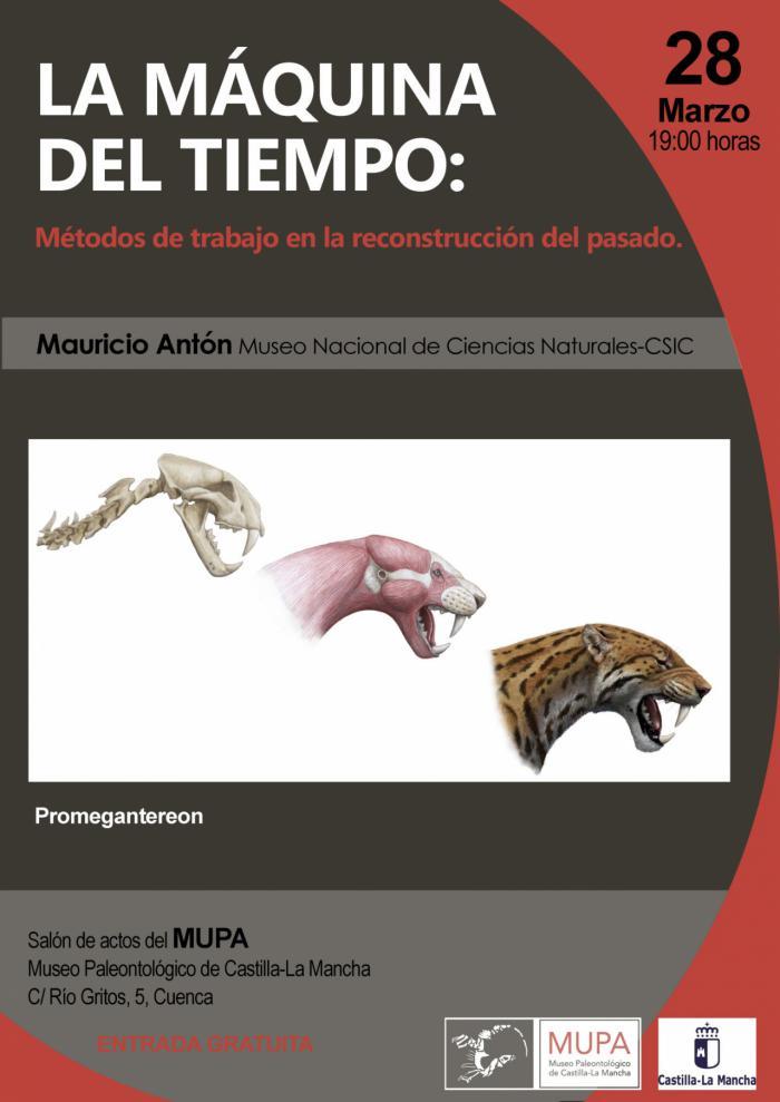 El Museo de Paleontología dedica la tercera de sus conferencias científicas a la restauración paleontológica.