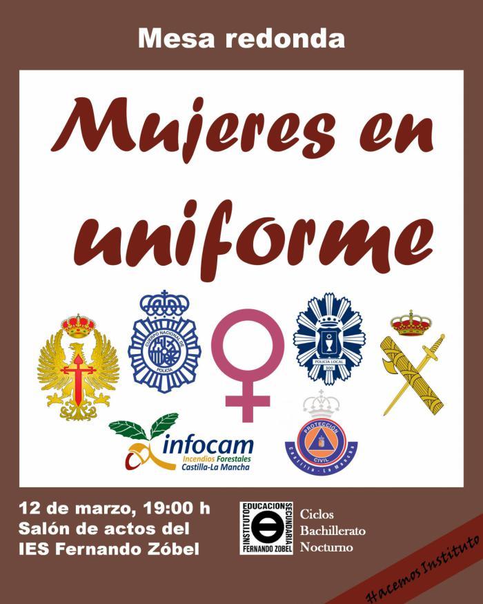 El instituto Fernando Zóbel acoge a 'Mujeres en uniforme'