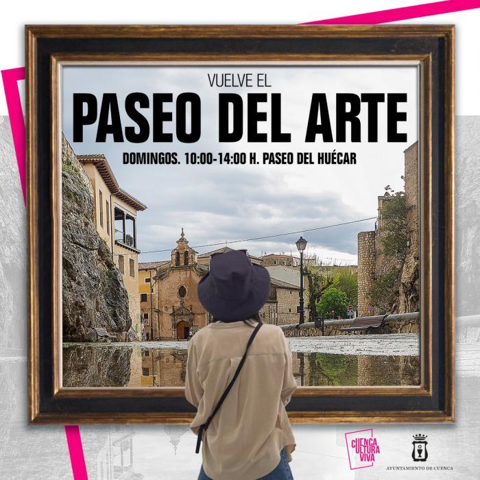 El Paseo del Arte vuelve este domingo con más de una veintena de artistas
