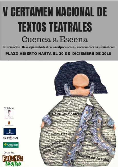 Convocada la quinta edición del certamen nacional de textos teatrales 'Cuenca a Escena'