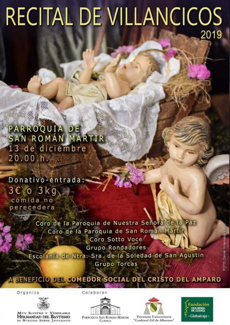 La Hermandad del Bautismo organiza un recital de villancicos y un taller de roscones entre sus actividades de navidad