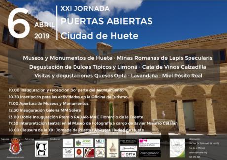 XXI Jornada de Puertas Abiertas de Monumentos y Museos en Huete