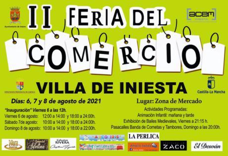 Iniesta acogerá este fin de semana la II Feria del Comercio Villa de Iniesta