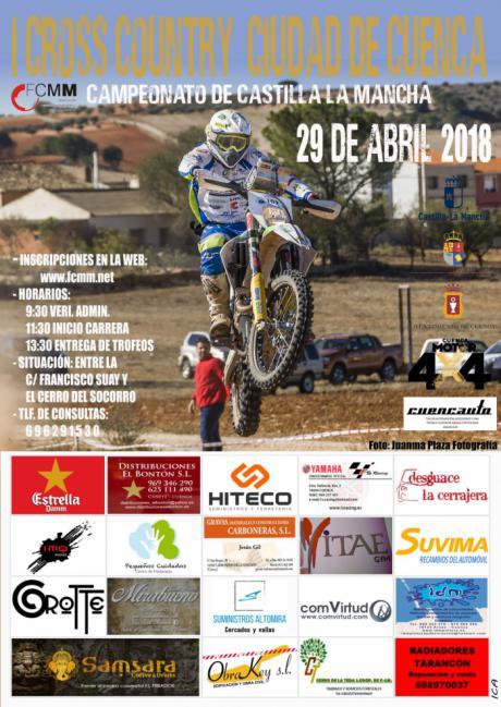 La capital acoge este domingo el primer Cross Country Ciudad de Cuenca