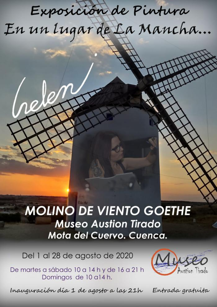 """La exposición de pintura """"En un lugar de La Mancha..."""" llega a Mota del Cuervo"""
