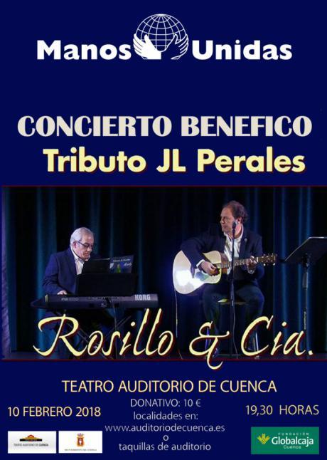 El Auditorio acoge este sábado un concierto benéfico a favor de Manos Unidos