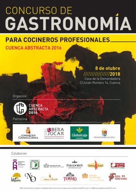 """Ya está en marcha el II Concurso de Gastronomía """"Cuenca Abstracta"""" para cocineros profesionales"""