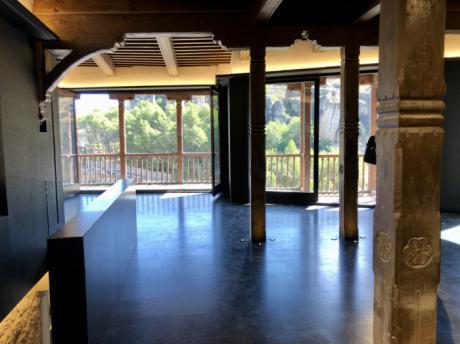 La propuesta de adjudicación para el uso del Restaurante Casas Colgadas, pendiente de la valoración final