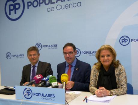 """El PP asegura que los Presupuestos de Sánchez son """"una traición para la provincia de Cuenca"""" y anuncia una enmienda a la totalidad"""