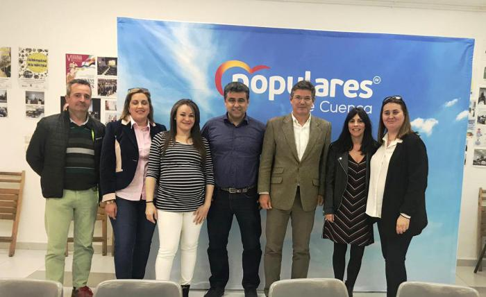 Catalá manifiesta el apoyo del Partido Popular a las zonas rurales y al desarrollo de su actividad económica