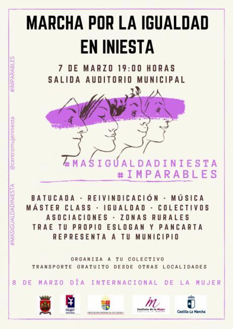 Iniesta marchará este sábado por la igualdad de la mujer