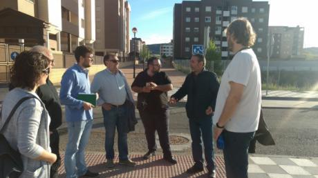 Izquierda Unida-Partido Castellano insisten en la urgencia de finalizar la urbanización del Cerro de la Horca.