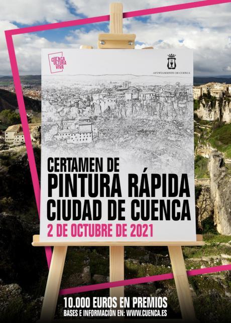 El próximo sábado se celebra el Certamen de Pintura Rápida Ciudad de Cuenca
