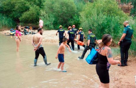 El Ayuntamiento de Enguídanos prohíbe el baño en las Chorreras del Cabriel