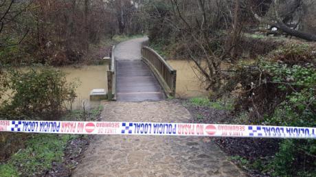 Se cierran los accesos a los ríos ante el incremento del caudal
