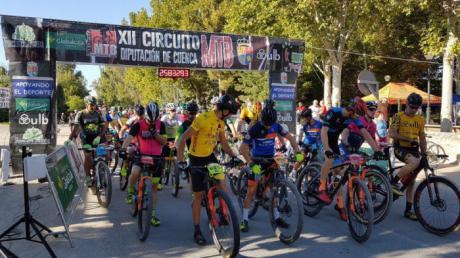 El Circuito de MTB Diputación de Cuenca llego a Huete