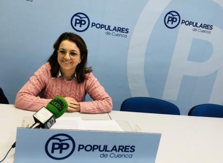 """Clara Plaza insta a los diputados nacionales del PSOE en Cuenca """"a tener la valentía de decir y votar no al disparate de un gobierno con populistas y separatistas"""""""