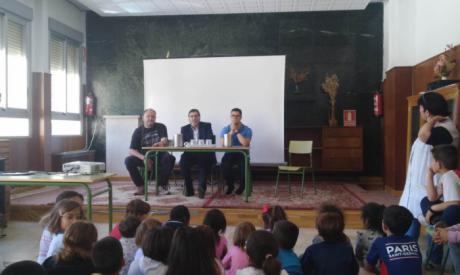 Escolares conocen a los protagonistas de #CuencaCapaz, iniciativa que visibiliza a las personas con discapacidad
