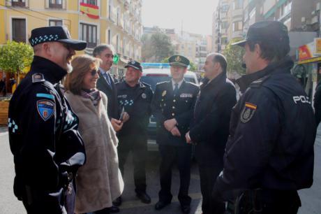 Gregorio presenta en Cuenca el Plan Comercio Seguro que contempla el refuerzo de la presencia policial para prevenir delitos durante la Navidad