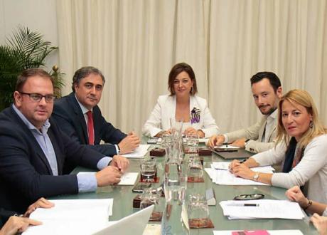 Ángel Mariscal asiste a la reunión de la Comisión Ejecutiva del Grupo de Ciudades Patrimonio de la Humanidad de España
