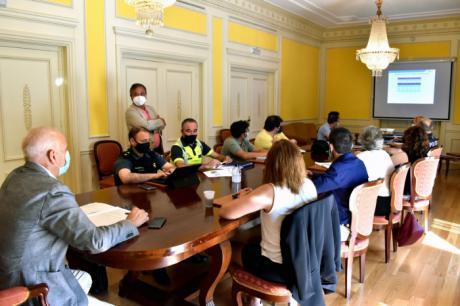 La subdelegación de Gobierno acogía la Comisión Provincial de Tráfico y Seguridad Vial