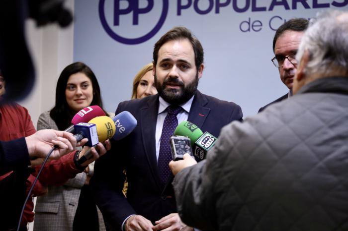 Núñez: 'Ofrezco al PSOE que Junqueras no salga de prisión con los votos de Castilla-La Mancha'