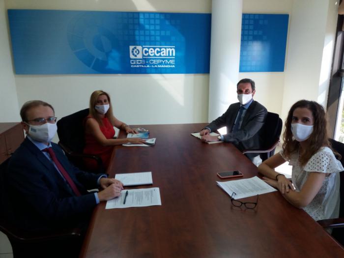 CEOE CEPYME Cuenca colaborará con CECAM para realizar una guía de implantación de la igualdad en las empresas