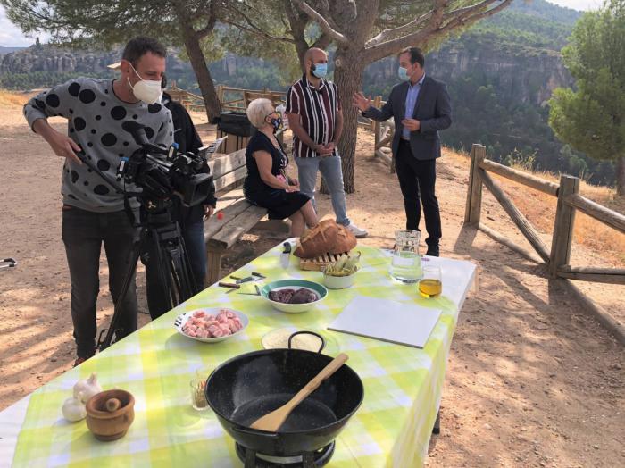 El Casco Antiguo escenario del programa de gastronomía 'Como Sapiens' de TVE