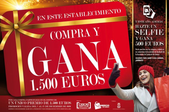 Los comercios de Cuenca siguen con su campaña compra y gana para premiar a sus clientes