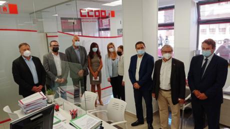 CCOO inaugura su nueva sede en Cuenca