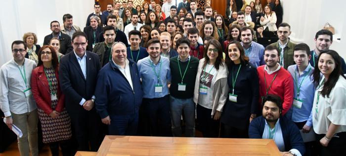 Pérez Osma es proclamado presidente de Nuevas Generaciones de Cuenca con el cien por cien de los votos emitidos